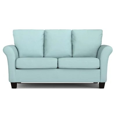 Blue Microfiber Sofa Images Frompo Handy Living Rockford