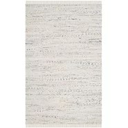 Rag White Area Rug