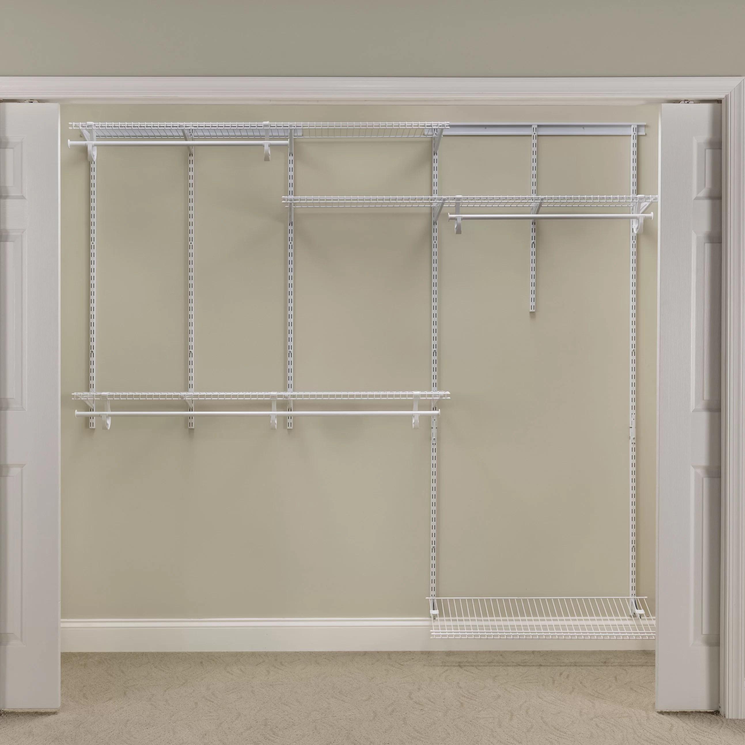 12 Inch Deep Closet Organizers
