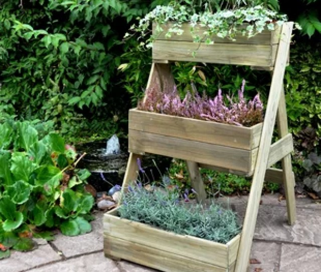 Wooden Vertical Garden