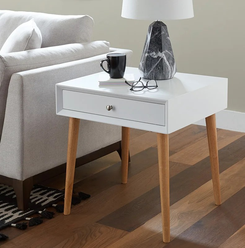 Blakeney End Table With Storage Amp Reviews