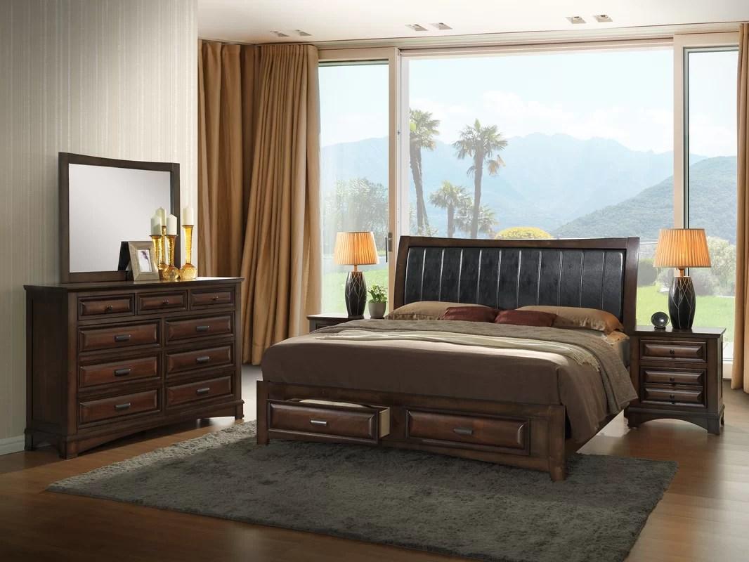roundhill furniture broval platform 5 piece bedroom set & reviews