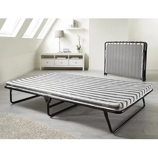 Value Folding Bed With Airflow Fibre Mattress