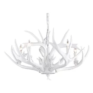 5 Light Candle Style Chandelier