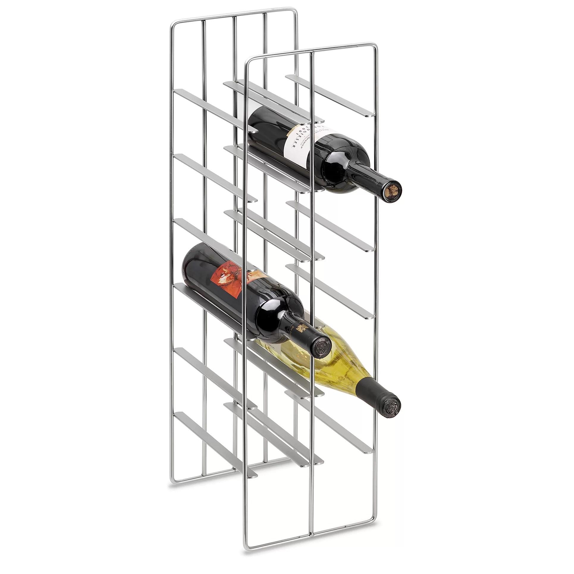 Pilare 12 Bottle Tabletop Wine Rack Amp Reviews