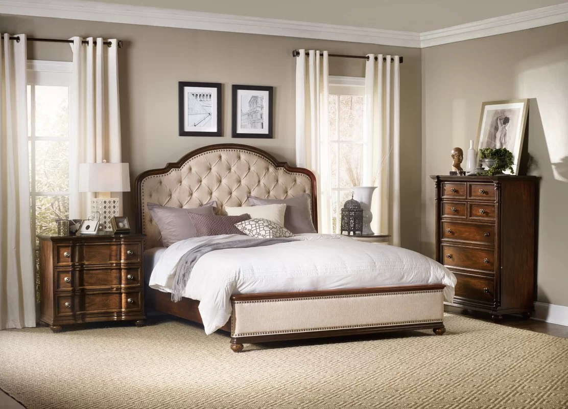 Hooker Furniture Leesburg Upholstered Panel Bed & Reviews