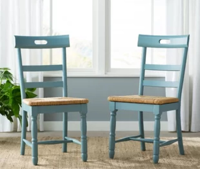 Alburg Solid Wood Dining Chair Set Of