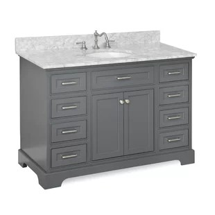 48 inch bathroom vanities you'll love | wayfair