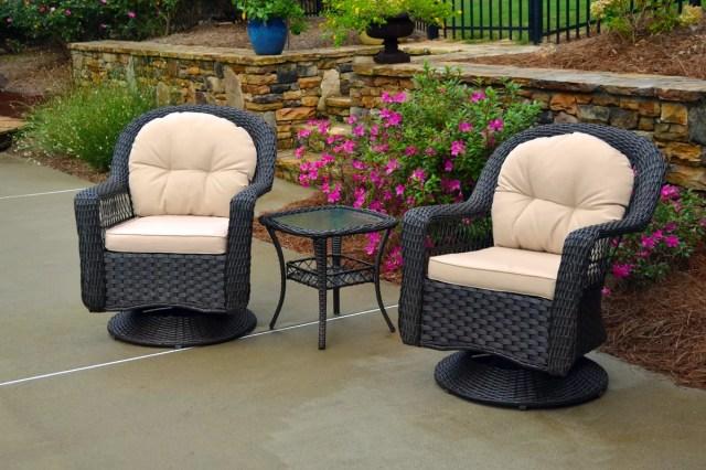 charlton home gleeson 3 piece conversation set with cushions