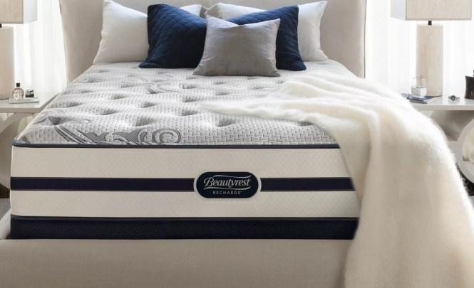 Beautyrest Recharge 13 Medium Firm Aircool Memory Foam Mattress