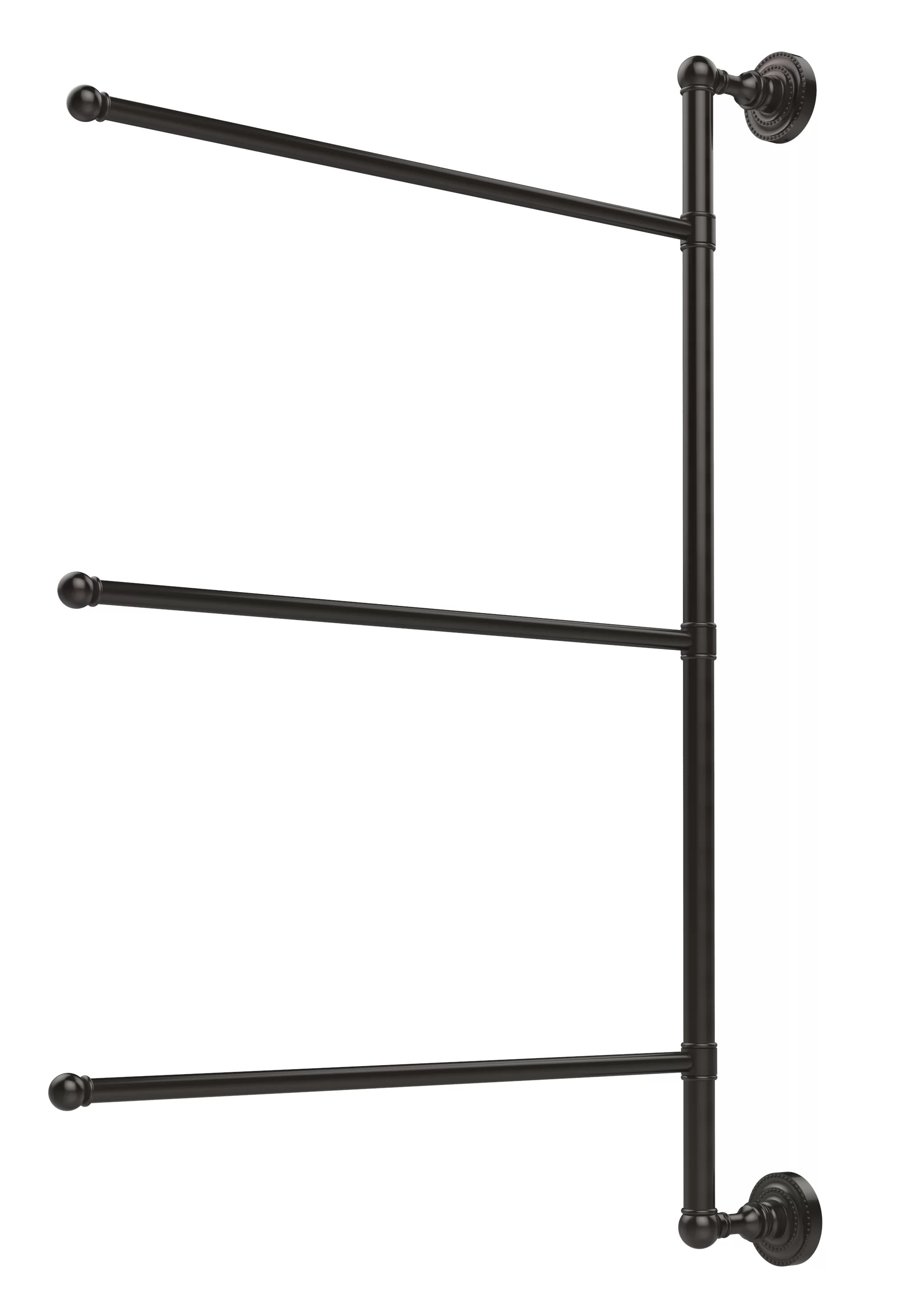 Allied Brass Dottingham Wall Mounted Towel Rack Amp Reviews