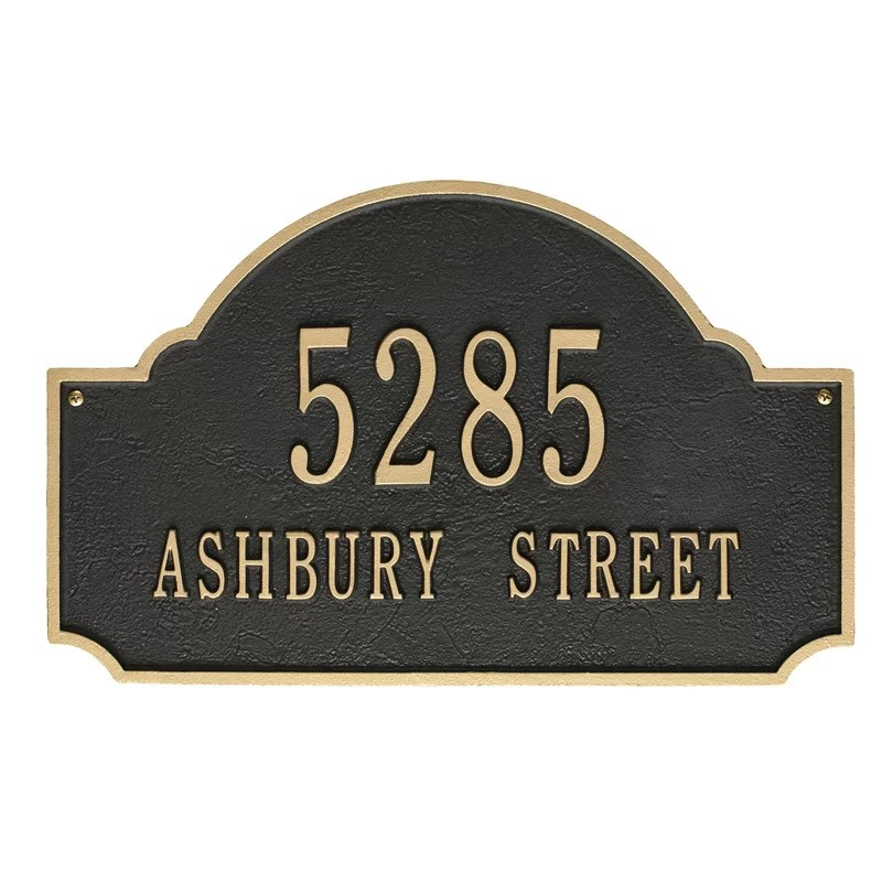 Address Plaques   Signs You ll Love   Wayfair Address Plaques   Signs