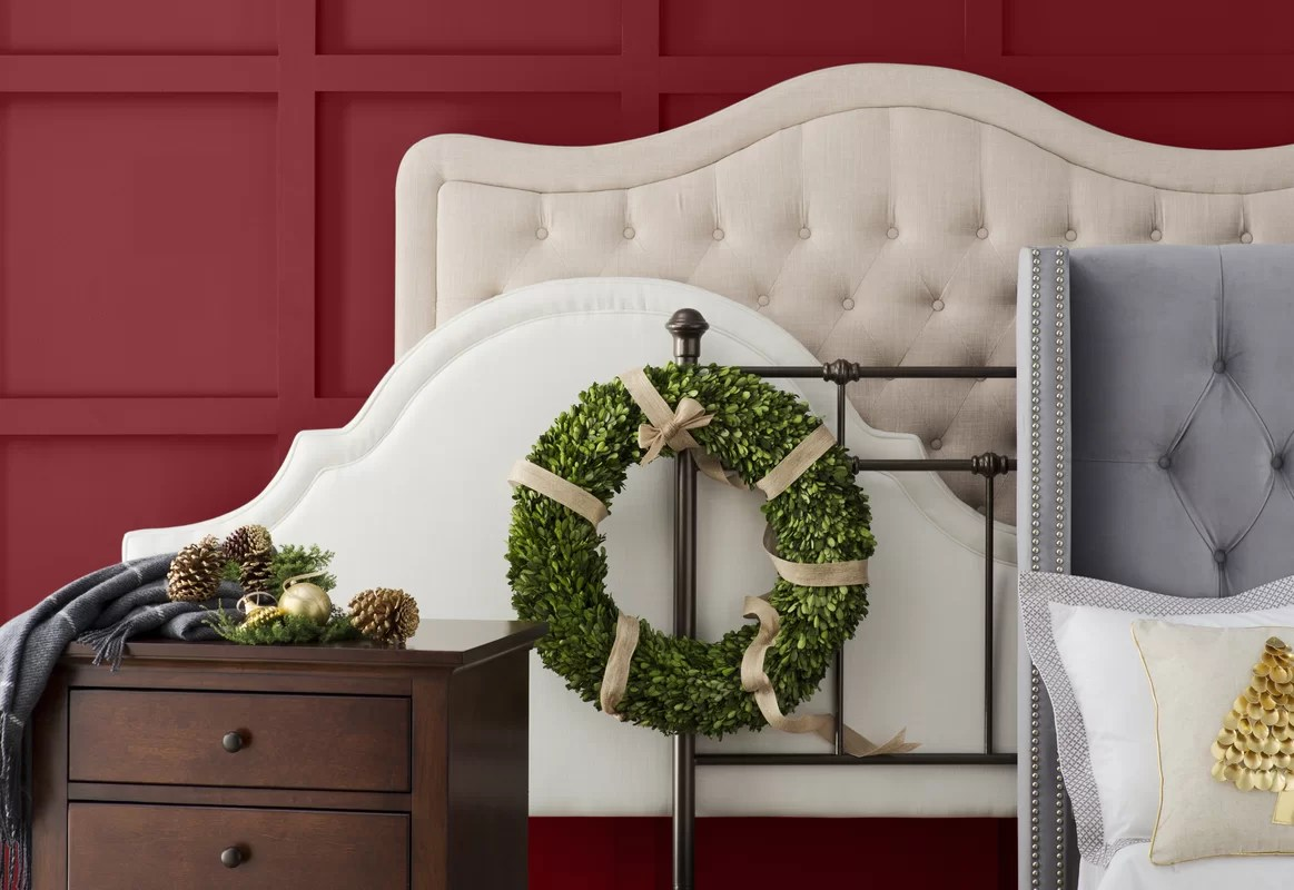 Darby Home Co Turin Tufted Upholstered Panel Headboard