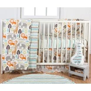 ensemble de literie pour lit de bebe 3 pieces safari