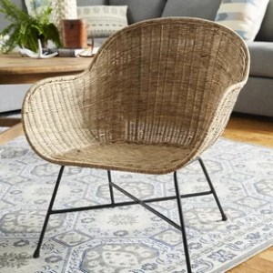 Resin Wicker Barrel Chair   Wayfair Ormond Barrel Chair