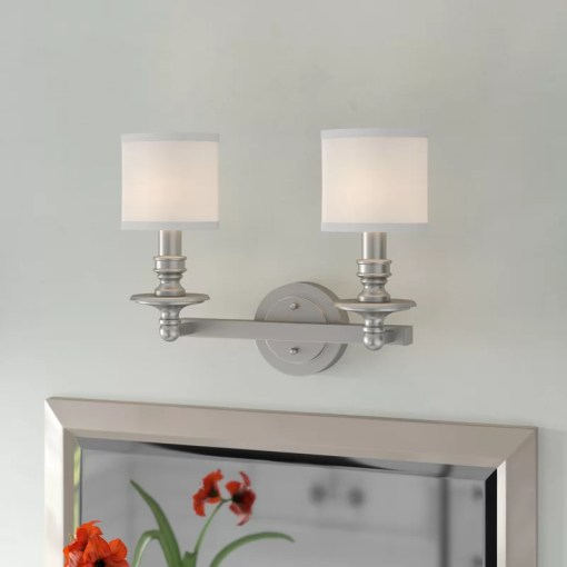 Birch Lane       Hollister 2 Light Vanity Light   Reviews   Birch Lane Hollister 2 Light Vanity Light