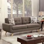 Walton Bay Tufted Sofa With U Shaped Base
