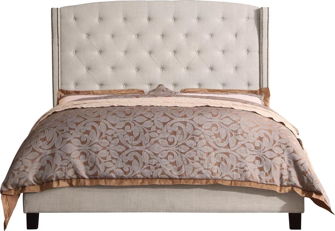 Willa Arlo Interiors Destiny Upholstered Panel Bed