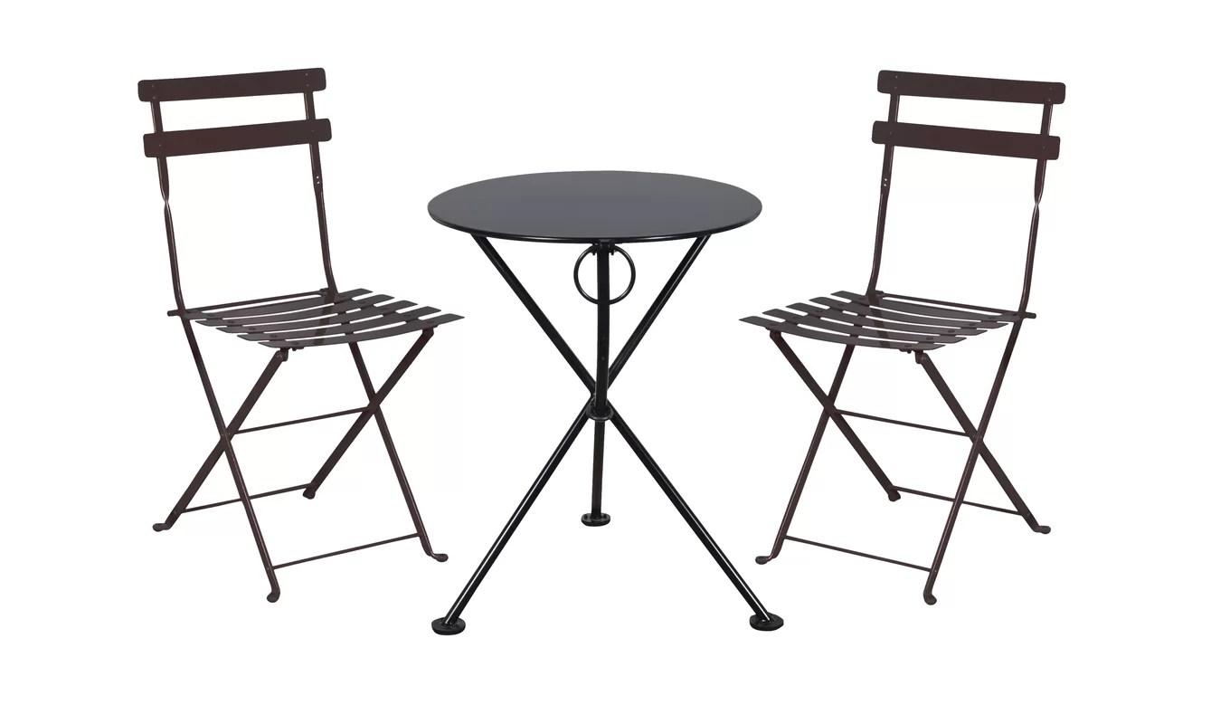 Furniture Designhouse French Bistro European Cafe Folding