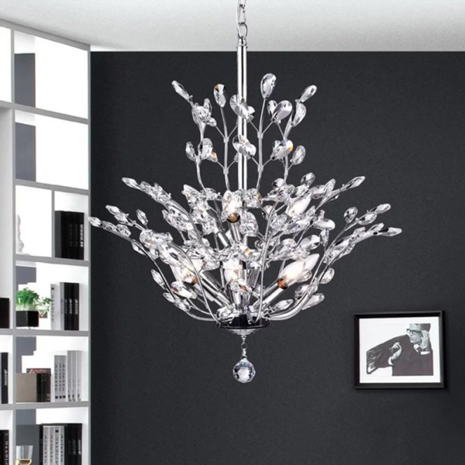 Dudley 9 Light Crystal Chandelier