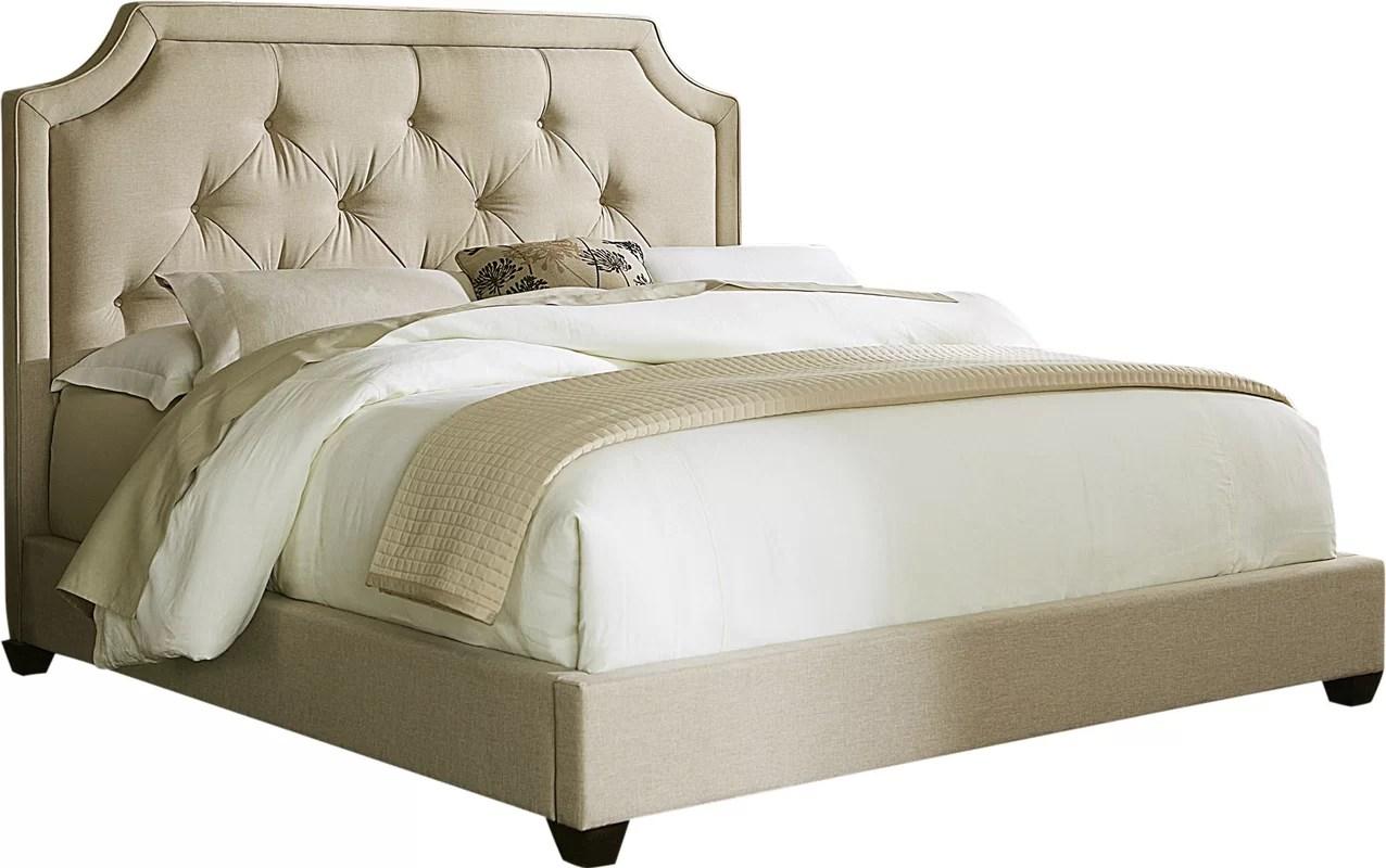 Liberty Furniture Marissa King Upholstered Bed & Reviews
