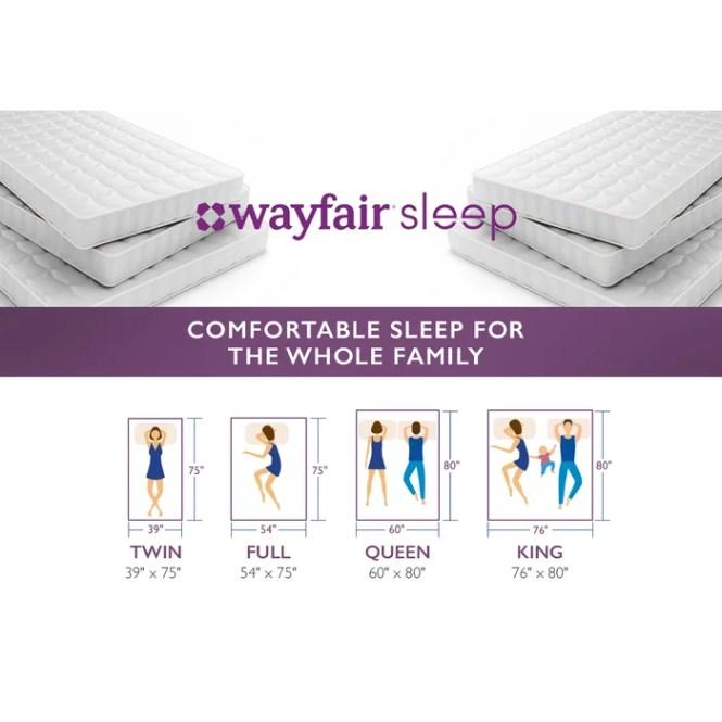 Wayfair Sleep 10 Memory Foam Mattress