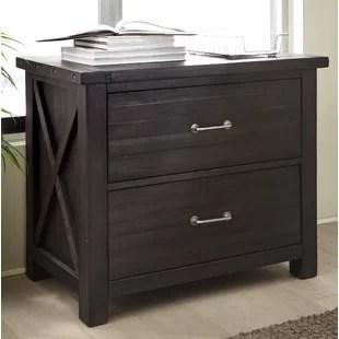 meuble de classement lateral a 2 tiroirs en bois massif langsa