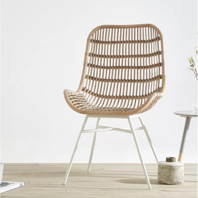 Alethea Rattan Garden Chair