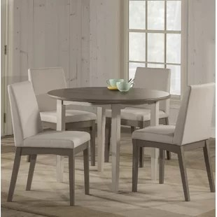 Modern   Contemporary Dining Room Sets   AllModern Kinsey Modern 5 Piece Drop Leaf Dining Set