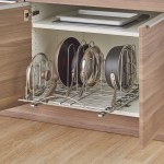 Kitchen Storage Organization 2x Houseware Metal Pullout