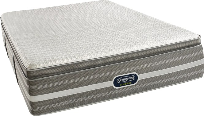 Beautyrest Recharge 15 Medium Firm Hybrid Aircool Memory Foam Mattress