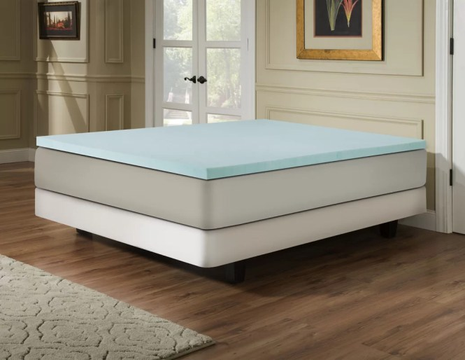 2 Memory Foam Mattress Topper