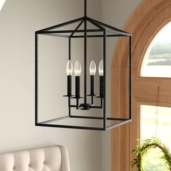 Laurel Foundry Modern Farmhouse Odie 4 Light Foyer Pendant