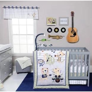 ensemble de literie pour lit de bebe 6 pieces rock band tuck