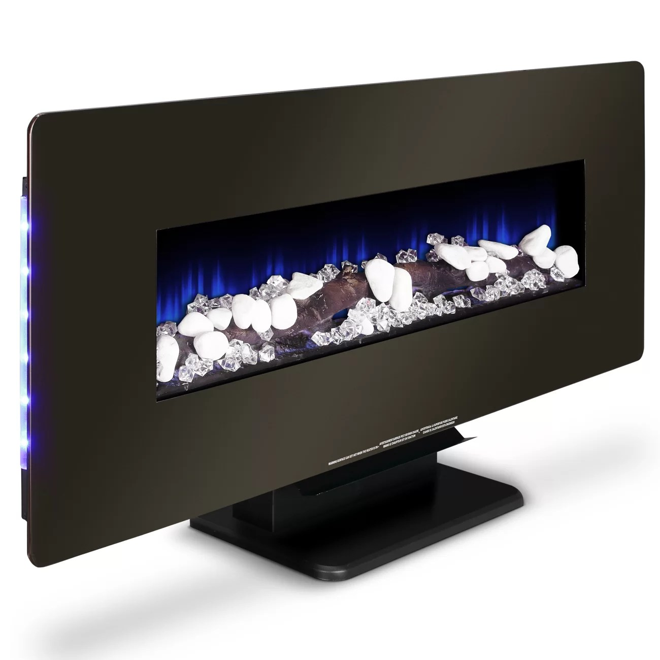 Della Della Heater Wall Mounted Electric Fireplace