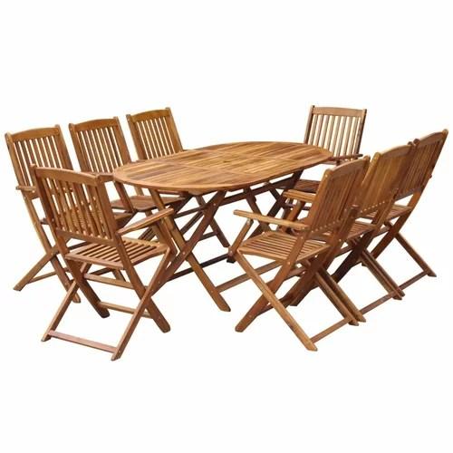 8-Sitzer Gartengarnitur CARMEN von GARTEN LIVING Akazie massiv