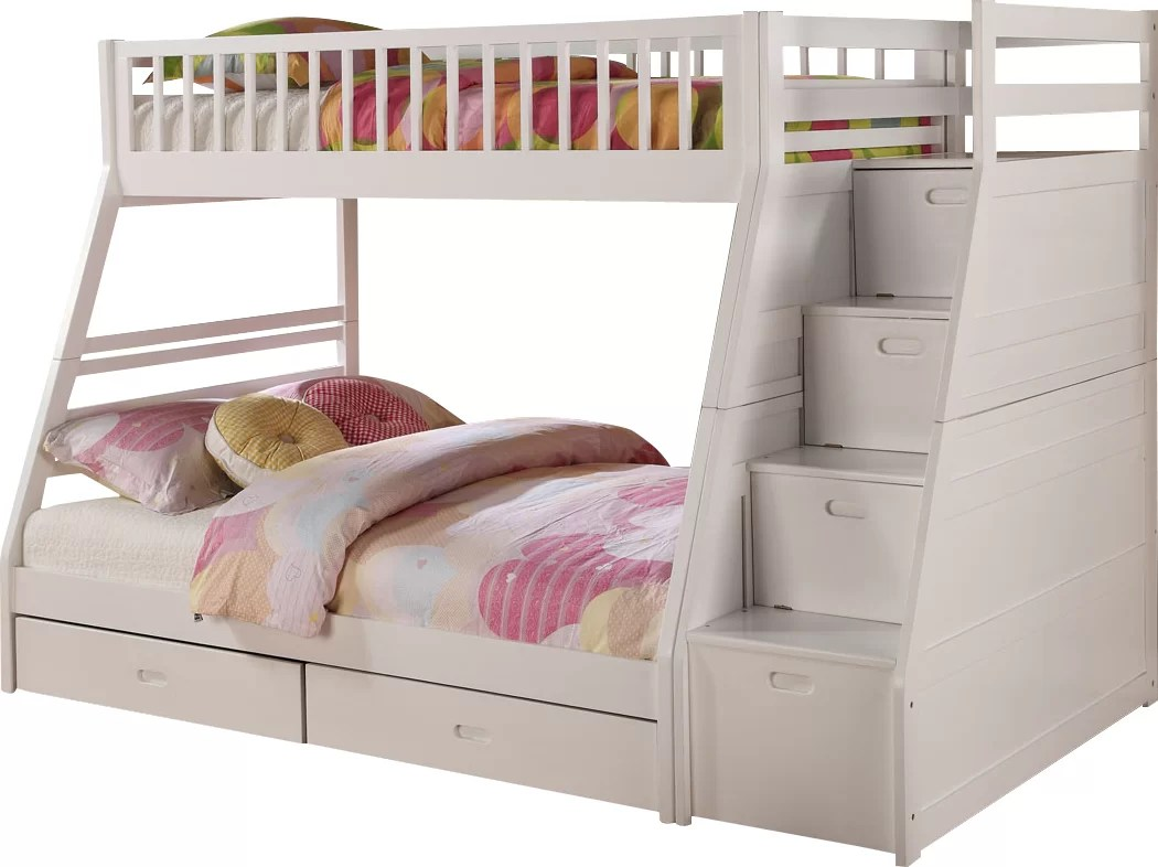 Viv + Rae Pierre Twin Over Full Bunk Bed With Storage