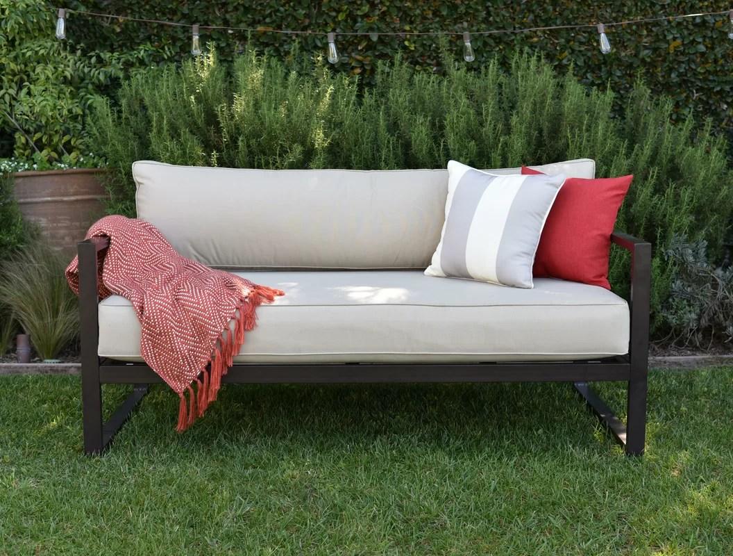 Catalina Outdoor Sofa With Cushions & Reviews