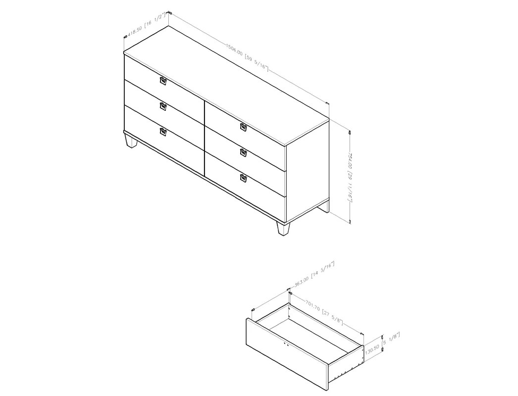 Dresser Drawer Slides