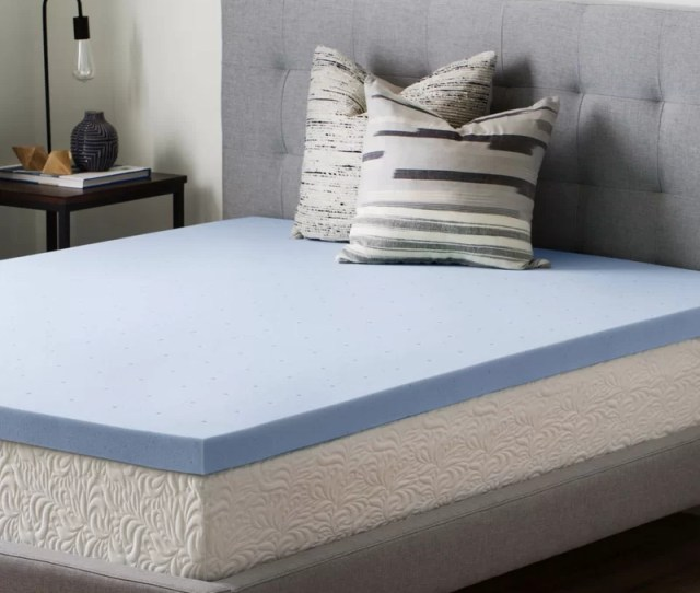 2 5 Gel Memory Foam Mattress Topper