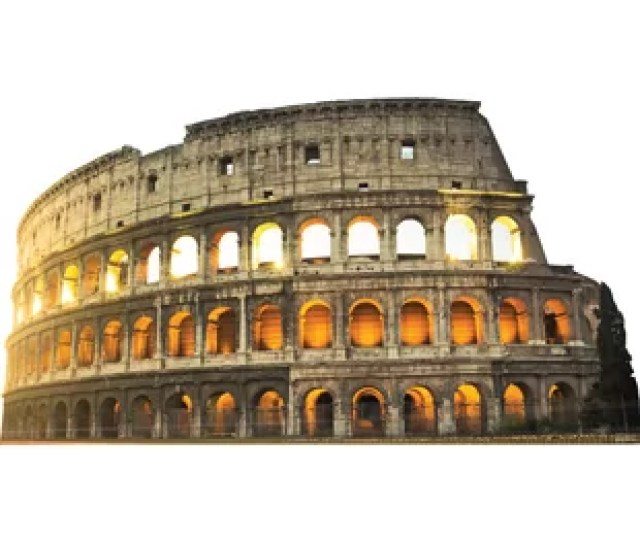 Italy Colosseum Cardboard Standup