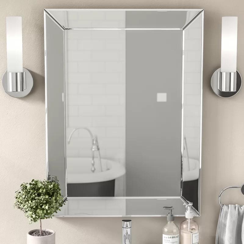Silver Mirror Wall Decor Ideas Novocom Top