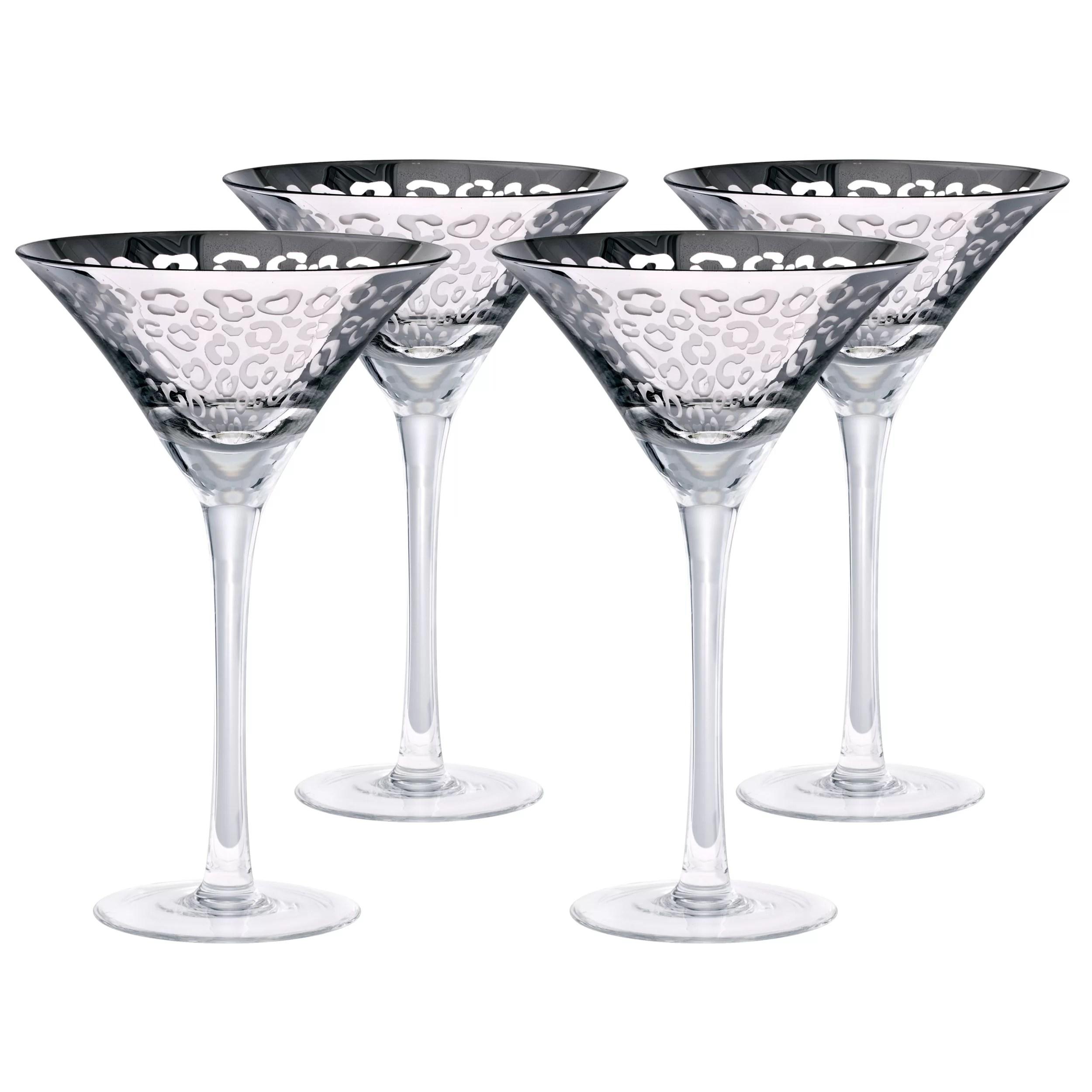 Artland Leopard 8 Oz Martini Glass Amp Reviews