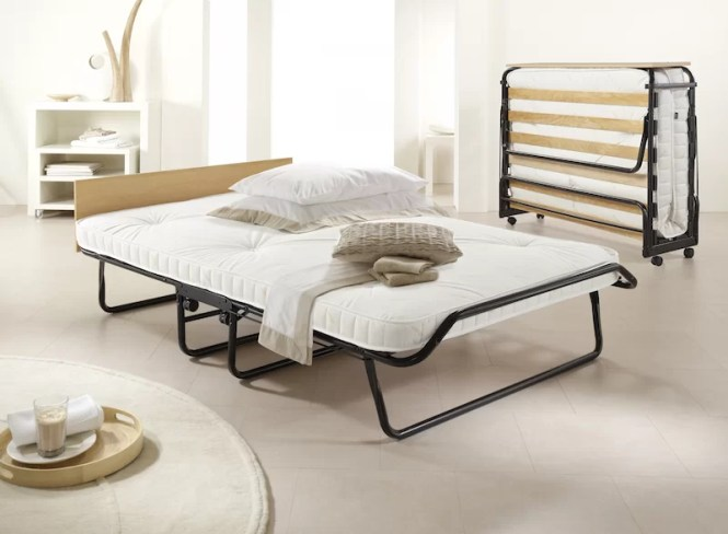 Contour Folding Bed With Pocket Spring Mattress