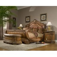 michael amini cortina panel configurable bedroom set & reviews