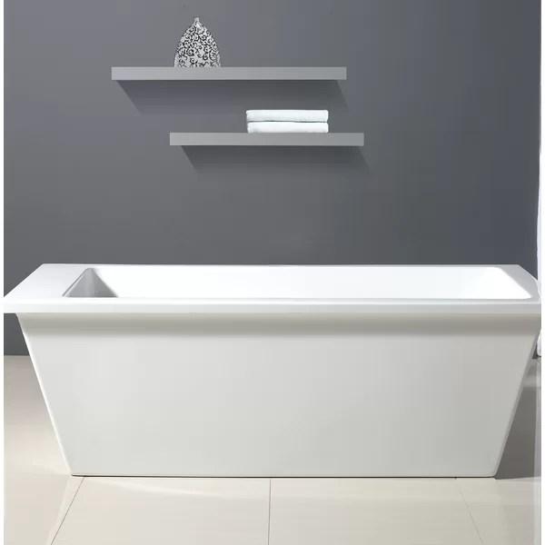 Ove Decors Houston 69 X 31 Bathtub Amp Reviews Wayfair