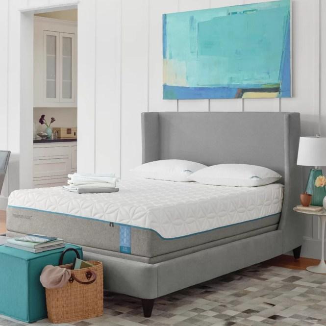 Tempur Pedic Cloud 12 5 Medium Soft Memory Foam Mattress Reviews Wayfair