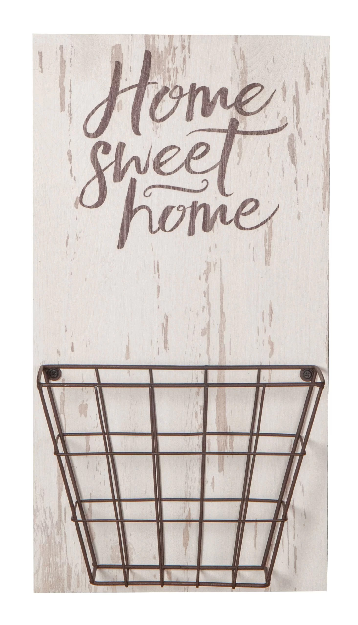 Zukowski Home Sweet Home Basket Wall Decor