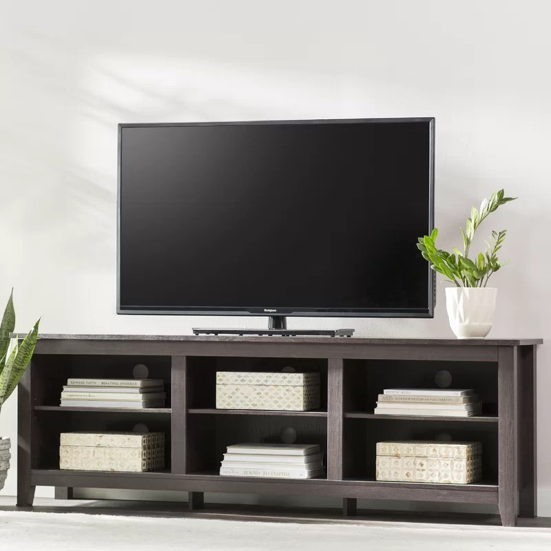 sunbury tv stand for tvs up to 70 with optional fireplace