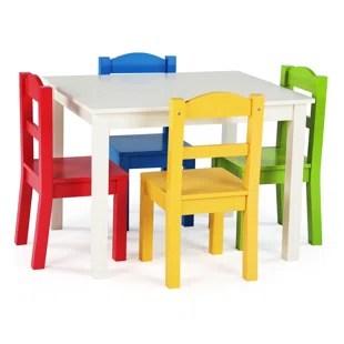 ogallala kids 5 piece rectangular table and chair set